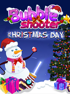 Bubble Shooter Christmas Day