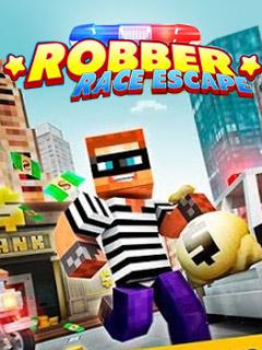 Robber Race Escape - Police Car Runner