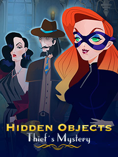 Hidden Objects Thief Mistery