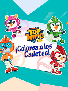 Top Wing: Color The Cadets