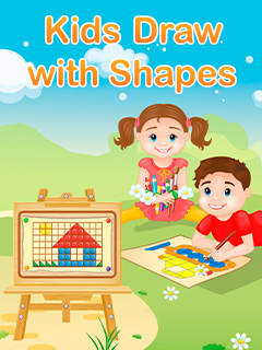 Kids Draw With Shapes
