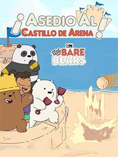 We Bare Bears Sandcastle Battle