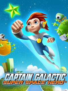 Captain Galactic Super Space Hero